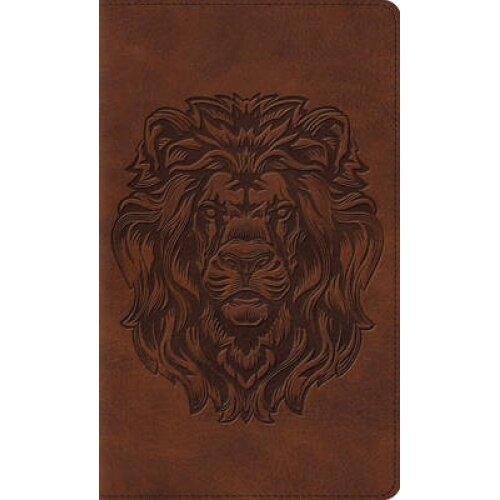 Thinline Bible-ESV-Royal Lion