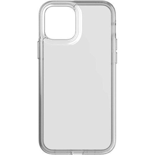 Tech21 Evo Clear For Apple iPhone 12 Pro Max 5G - Germ Fighting Antimicrobial Phone Case Cover with 3 Meter Drop Protection