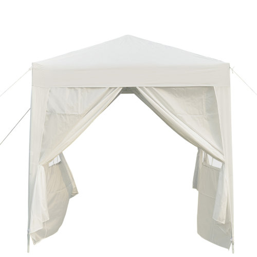 Outsunny 2m x 2m Pop-Up Gazebo | Heavy Duty Party Tent Marquee