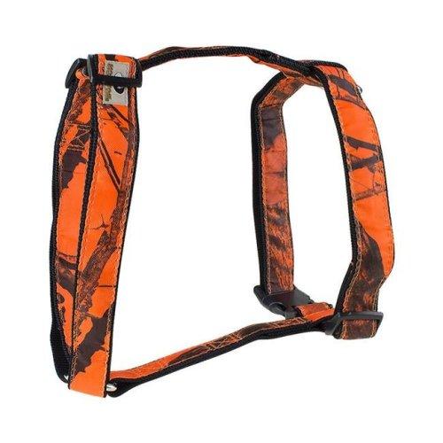 Mossy Oak 22857-06 Basic Dog Harness, Orange - Medium