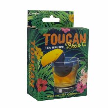 Toucan Brew It Tea Infuser Leaf Loose Herbal Drink Soft Silicon Improves Flavour