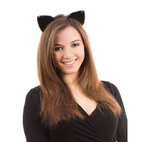 Tiger Animal Kit Ears Headband Tail Bowtie Mini Nose Mask Set Costume Accessory