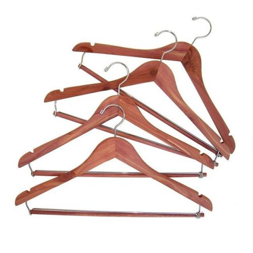Hanger with Locking Trouser Bar