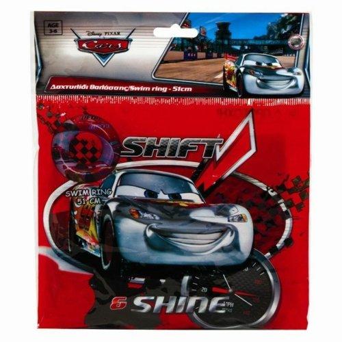 Disney Cars Swim Ring Inflatable Swimming Aid Boys Gift Lightning McQueen Beach