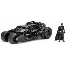 Jada Diecast DC Batman The Dark Knight Batmobile With Figure - 1:24 Collection