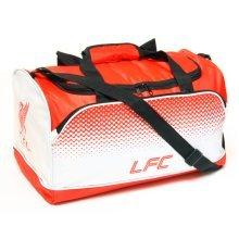 Liverpool F.c. Holdall Official Merchandise -  large school football sports travel shoulder holdall gym kit duffel bag xmas
