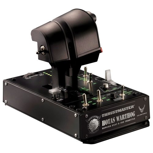 THRUSTMASTER Hotas Warthog Dual Throttles - Black, Black
