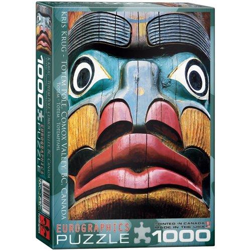 Eg60000243 - Eurographics Puzzle 1000 Pc - Totem Pole / Kris Krug