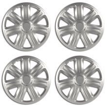 "Equip 15"" Comfort Silver Wheel Trims - Set of 4"