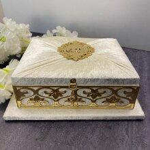Holy Quran Set Velvet Covered