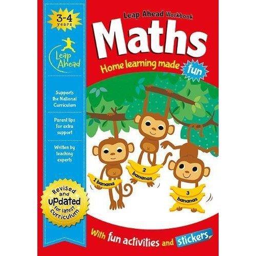 Maths Age 3-4 (Leap Ahead Workbook Expert)