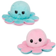 Reversible Octopus Plush Toy   Double-Sided Flip Octopus Toy