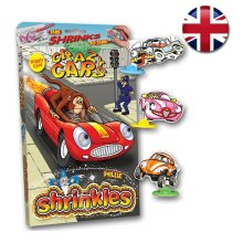 Shrinkles Wiggly Eyed Crazy Cars Bumper Pack