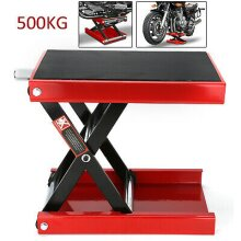 Motorbike Motorcycle Table Bench Workshop Scissor Lift Jack Stand