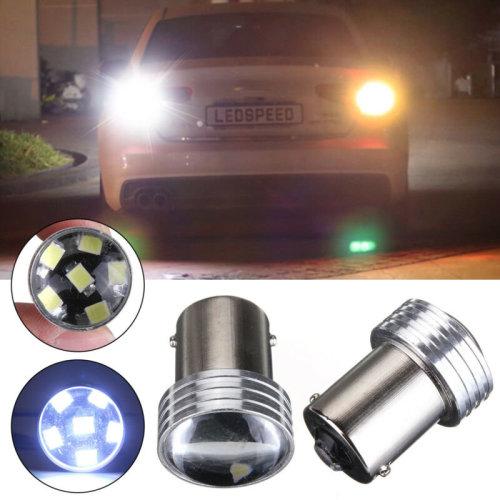 1156 12V BA15S 4 COB Car LED Light Tail Side Bulb Brake Reverse Signal Light
