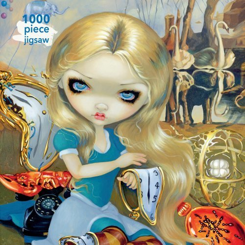 Adult Jigsaw Jasmine Becket-Griffith: Alice in a Dali Dream