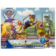 Paw Patrol Chunky Wood Puzzle Style (Assorted Styles)