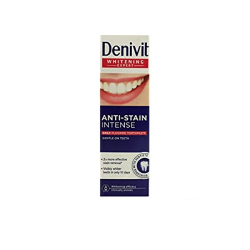 Denivit Whitening Expert Anti-Stain Intense Fluoride Toothpaste 50ml