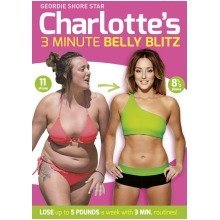 Charlotte Crosby's 3 Minute Belly Blitz DVD [2014]