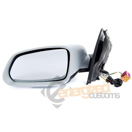 Volkswagen Polo Mk4 2005-3/2010 Cable Primed Wing Door Mirror Passenger Side N/s