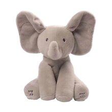 Plush Peek-A-Boo Animal Toy