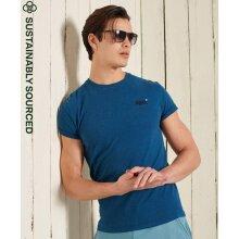 Superdry Orange Label Vintage Embroidery T-Shirt - Ketion Blue Marl