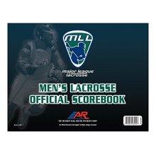 A&R Sports Major League Lacrosse Mens Lacrosse Official Scorebook
