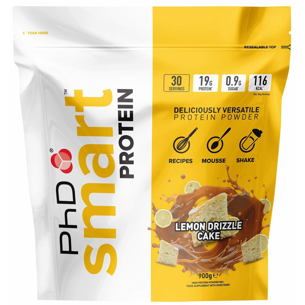 PhD Nutrition Smart Protein-Lemon Drizzle Cake