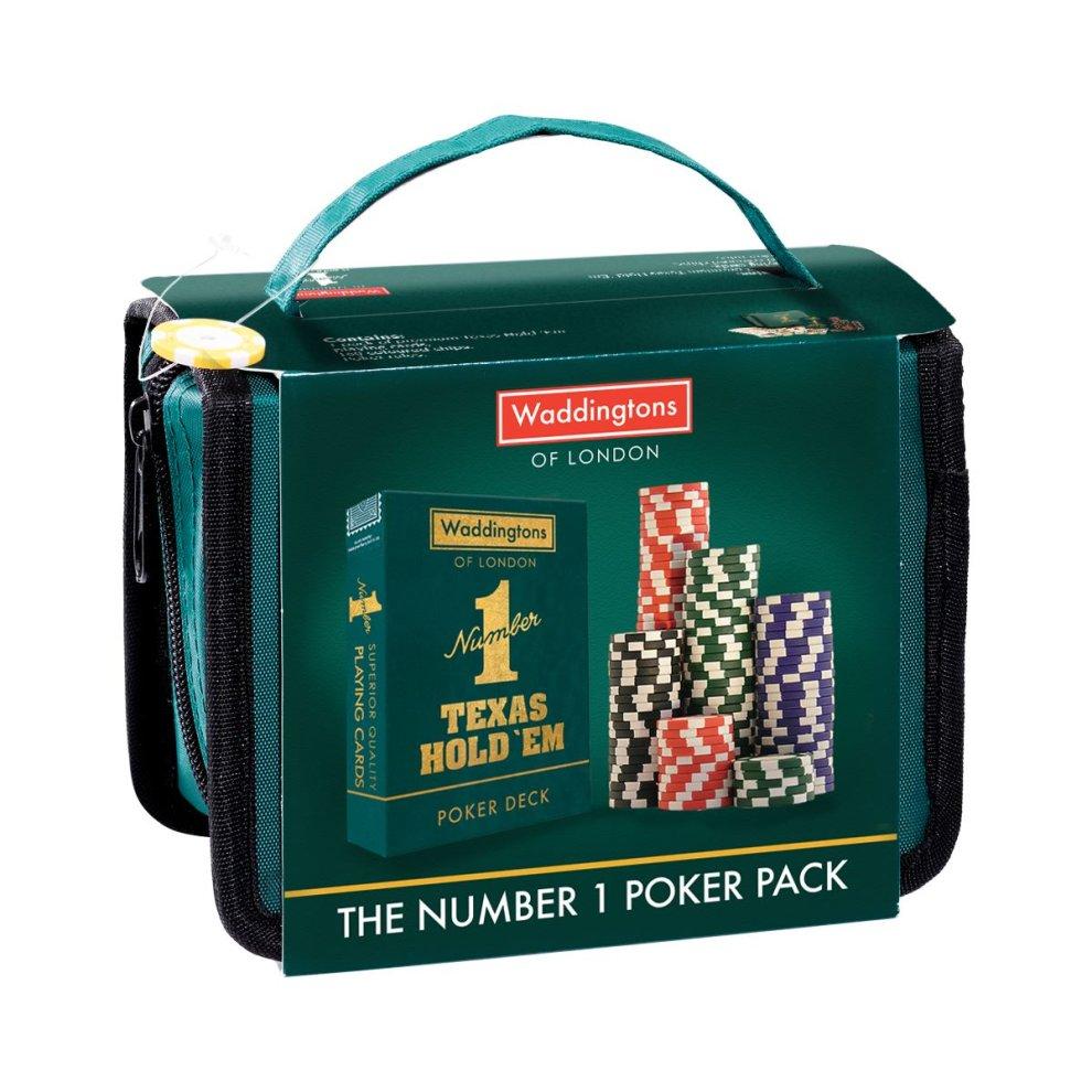 Poker Waddingtons Number 1 Travel Pack
