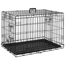 Pet Vida Folding Dog Cage | Collapsible Dog Crate