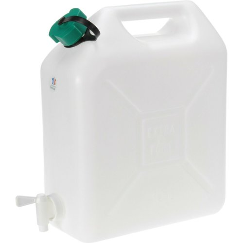 Large Water Carrier Plastic Jerry Can Water Storage Container With Tap (10 Litre)