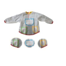 Kids Mess Free Hobby Painting Apron Paint Covering For Kids