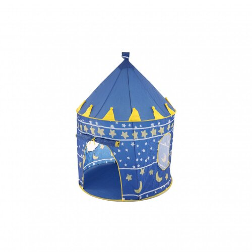 Oypla Prince Princess Blue Indoor Outdoor Garden Beach Toy Play Castle House Tent