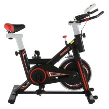 Black & Red Home Exercise Bike   Stationary Workout Machine
