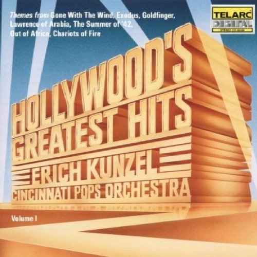 Cincinnati Pops Orchestra and Erich Kunzel - Hollywoods Greatest Hits, Vol. 1 [CD]