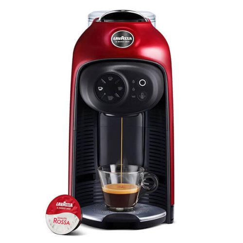 Lavazza 18000281 Idola Pod Coffee Machine, 1500W, Red