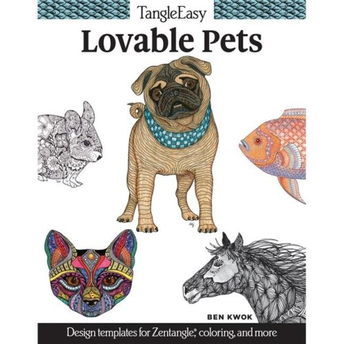 Design Originals 1572701 Lovable Pets Tangle Easy Book