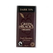 Green & Blacks - Dark Chocolate 35g (30 pack)