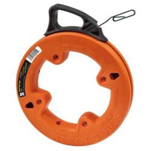 25 ft. Steel Fish Tape - Orange