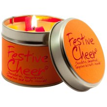 Lily Flame Festive Cheer Tin, Yellow