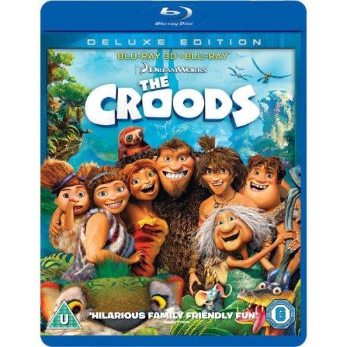 The Croods 3D Blu-Ray Blu-Ray [2014]