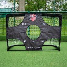 Futtymania Football Goal Garden 2in1 Pop Up Soccer Target Net