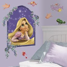 RoomMates Disney Tangled Rapunzel Giant Wall Sticker