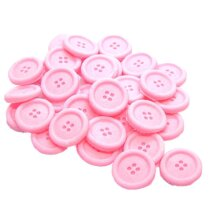 Pack 30 Edible Buttons Cupcake Toppers Cake Decorations