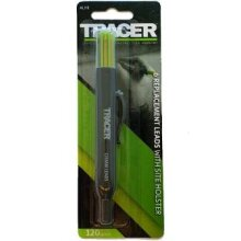 TRACER 6x Replacement leads in TRACER Holster (4x 2B & 2x Yellow)
