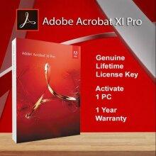 Adobe Acrobat XI Professional key(Retail Version) Windows 32/64BIT - Used
