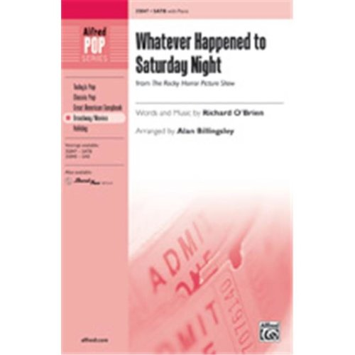 Alfred 00-35849 WHATEVER HAPPENED TO SAT NT-STRX CD