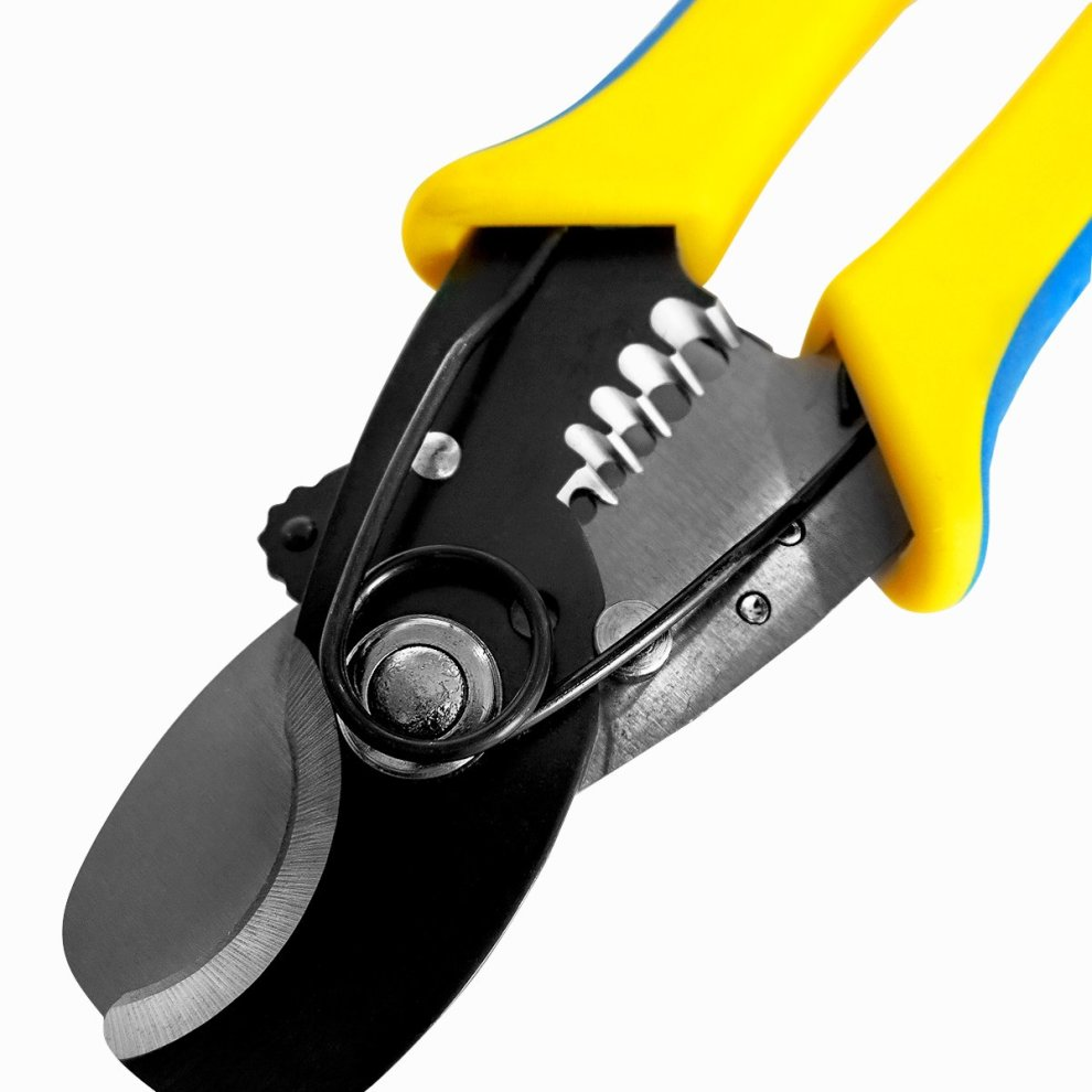 WIRE STRIPPER AWG 14,12,10 8 S/&R Electric Cable Cutters Copper Cable Stripper 170 mm Upto 11 mm