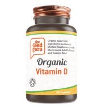 Organic Vitamin D Supplement, No Added Sugar, Gluten-free, NON-GMO