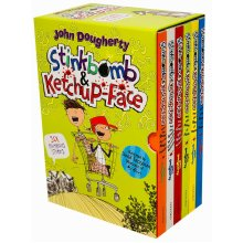 Stinkbomb & Ketchup-Face Series 6 Books Collection Box Set By John Dougherty